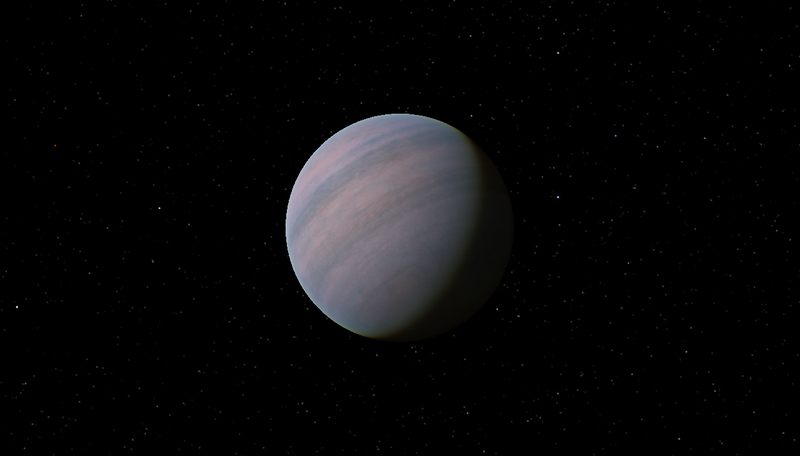 Artist depiction of Gliese 581D
